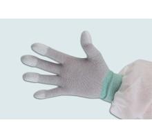 KM-S09 Găng tay sợi Cacbon chống tĩnh điện phủ PU đầu ngón