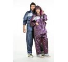 Áo mưa bộ vải PVC 1-QV