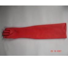 CN04 Găng tay chống axit màu đỏ