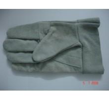 Găng tay da hàn ngắn 1 lớp