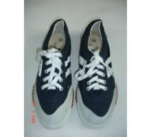 GTD-01 Giày vải bata mũi da Thượng Đình