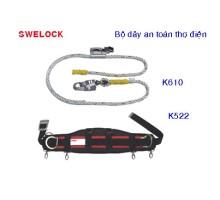K522/K61 Dây an toàn thợ điện Swelock