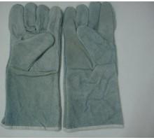 Găng tay da hàn dài viền ngón, 1 lớp