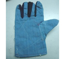 Găng tay vải mập jean