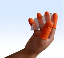 Bọc ngón chống tĩnh điện màu cam - chống chơn trượt