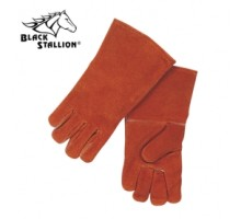 Black Stallion 112 Value Split Cowhide Stick Welding Gloves
