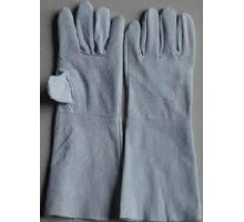 KM351 - Găng tay da hàn dài 35cm 1 lớp